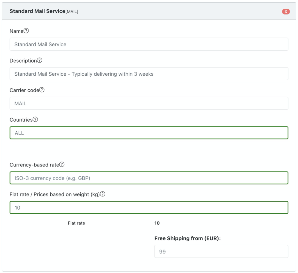 Multi Shipping Rates for Shopify: Step 5
