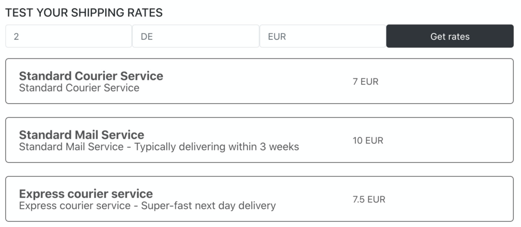 Multi Shipping Rates for Shopify: Final steps
