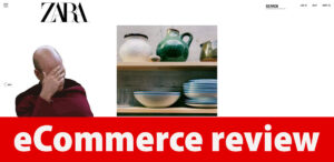 eCommerce review: Zara website